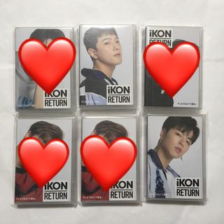 アイコン(iKON)のiKON プレイボタン 新品未開封品(K-POP/アジア)