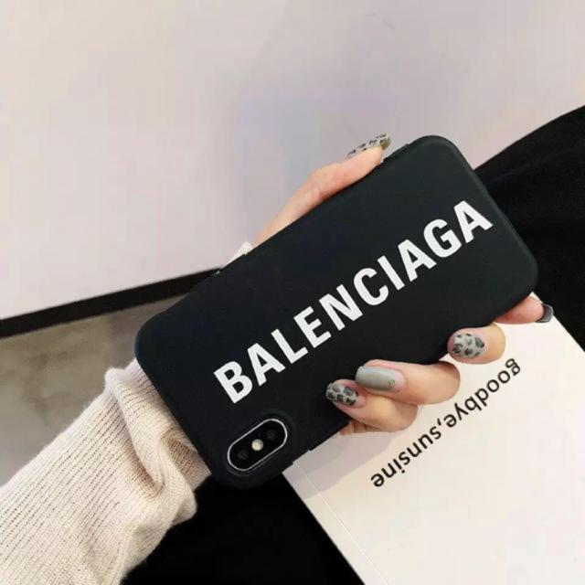iphone7 ケース 手帳 韓国 | Balenciaga - 【即日発送】BALENCIAGA ロゴ iPhoneケースの通販 by ✩⡱ rem suimin|バレンシアガならラクマ