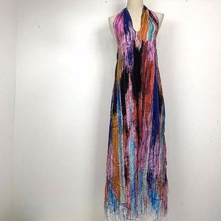 STEFANEL - 人気のSTEFANEL シルク42%サイズ多数!セクシーマキシ丈ドレス
