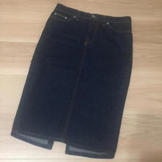 ディーアンドジー(D&G)のD&G デニムスカート 36(ひざ丈スカート)