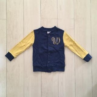 ディラッシュ(DILASH)の[100] DILASH 紺×黄 袖切り替えジャケット(ジャケット/上着)