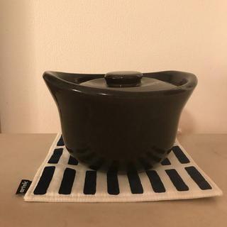 ムジルシリョウヒン(MUJI (無印良品))の無印良品 土釜おこげ 1.5合炊き(鍋/フライパン)