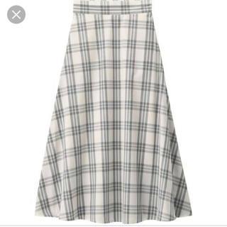 GU - ジーユー チェックロングスカート