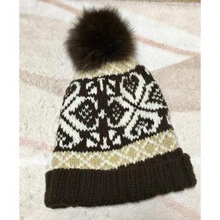 エルディーエス(LDS)のニットの帽子(ニット帽/ビーニー)