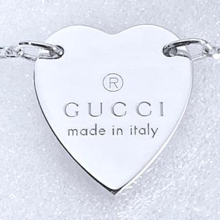 グッチ(Gucci)の仕上げ済み  GUCCI  ハートモチーフ  ネックレス(ネックレス)