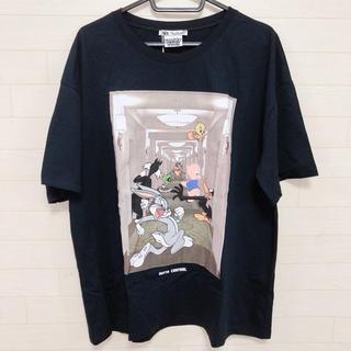 ザラ(ZARA)の新品★ZARA レディース ルーニーテューンズ ビックTシャツ ブラック(Tシャツ(半袖/袖なし))