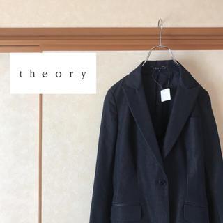 セオリー(theory)の【新品未使用】定価4.6万 theory セオリー テーラードジャケット 0(テーラードジャケット)