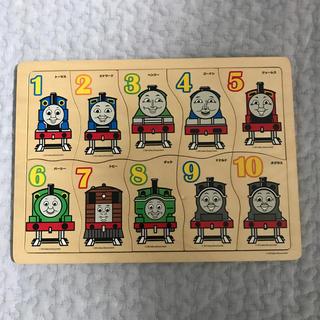 トーマス 木製パズル