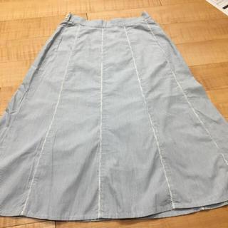 ドゥファミリー(DO!FAMILY)のDo!Family ストライプのフレアスカート(ひざ丈スカート)