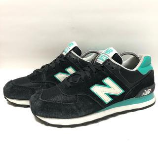 New Balance - P27 ★ 24cm★ニューバランスWL574CPR ブラック黒色