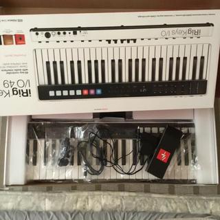 irig keys i/o 49 midiキーボード ik multimedia(キーボード/シンセサイザー)