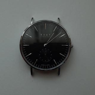 ノット(KNOT)のKnot 腕時計 CS-36SVBK(腕時計(アナログ))