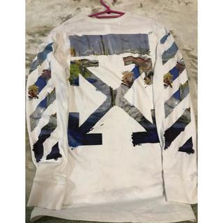 オフホワイト(OFF-WHITE)のoff-white ロンT(Tシャツ/カットソー(七分/長袖))