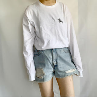 ステューシー(STUSSY)のStussy 長袖TEE(Tシャツ/カットソー(七分/長袖))