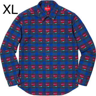 Supreme - Supreme Rose Buffalo Plaid Shirt XL