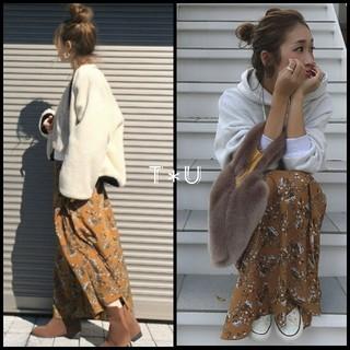TODAYFUL - TODAYFUL フラワースリットスカート
