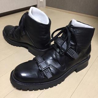 カバンドズッカ(CABANE de ZUCCa)の■カバンドズッカ ベルト ブーツ M 実サイズ感26.5前後(ブーツ)