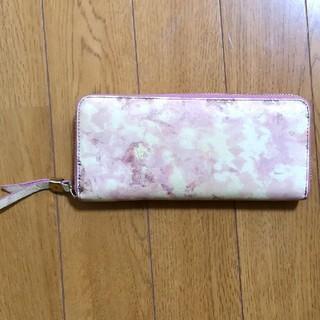 サザビー(SAZABY)のSAZABY ピンク長財布(財布)