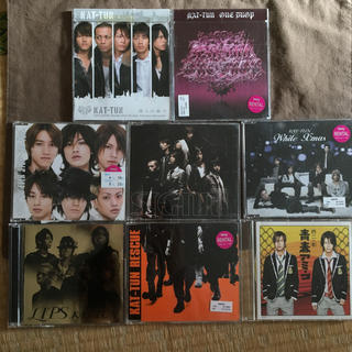 カトゥーン(KAT-TUN)のKAT-TUN 修二と彰 シングル CD8枚セット(ポップス/ロック(邦楽))