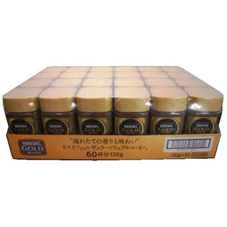 ネスレ(Nestle)のネスカフェ ゴールドブレンド 120g 24本セット(コーヒー)