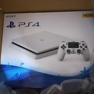 PlayStation4 - PS4本体新品未開封 ホワイト 500GB