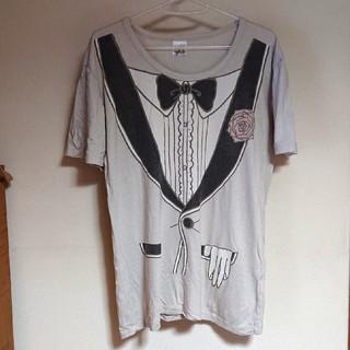 ハンジロー(HANJIRO)のHANJIRO   だまし絵Tシャツ(Tシャツ(半袖/袖なし))