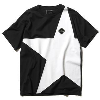エフシーアールビー(F.C.R.B.)のLサイズ 19SS FCRB BIG STAR TEE BLACK ブラック 黒(Tシャツ/カットソー(半袖/袖なし))
