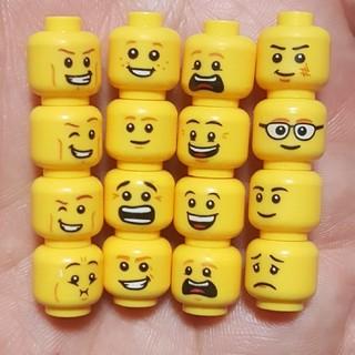 Lego - レゴ互換 男の顔 16個set
