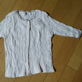 ティンカーベル(TINKERBELL)のティンカーベルカットソー110ベージュ(Tシャツ/カットソー)