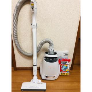 パナソニック(Panasonic)のパナソニック 紙パック式掃除機 ホワイト MC-PA100G-W(掃除機)