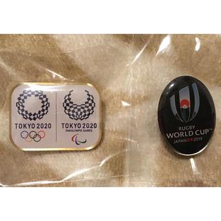 オリンピック&ラグビーワールドカップのピンバッチ(バッジ/ピンバッジ)