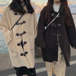 GOGOSING - 韓国 ダッフルコート イチナナキログラム