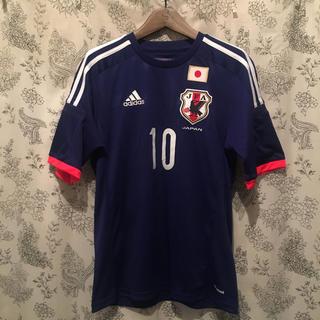 アディダス(adidas)の2014サッカー日本代表ユニフォーム 香川選手の10番(応援グッズ)