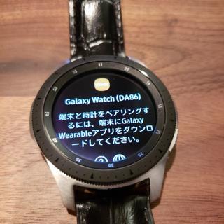 サムスン(SAMSUNG)のGalaxy Watch 46mm ギャラクシーウォッチ(その他)