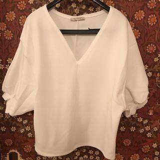 ザラ(ZARA)のZARA VネックT Sサイズ(Tシャツ(半袖/袖なし))