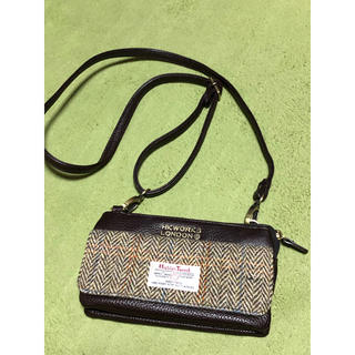 シマムラ(しまむら)のハリスツイード お財布ショルダー (財布)