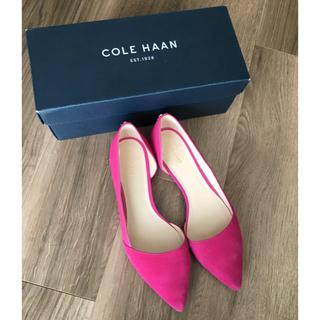 コールハーン(Cole Haan)のコールハーン 春色 パンプス  8B(ハイヒール/パンプス)