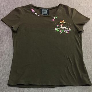 シンシアローリー(Cynthia Rowley)の刺繍Tシャツ(Tシャツ(半袖/袖なし))