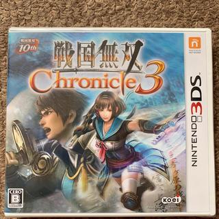 ニンテンドー3DS - 3DS 戦国無双 クロニクル3 新品未開封