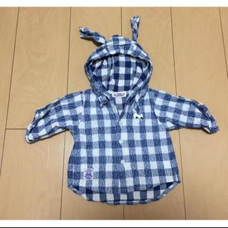 フード付きシャツ(シャツ/カットソー)
