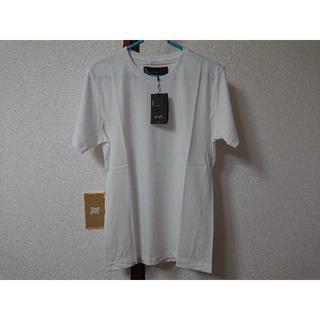 ダブルジェーケー(wjk)のwjk 1mile/ nano universe 半袖Tシャツ 白 S 新品(Tシャツ/カットソー(半袖/袖なし))