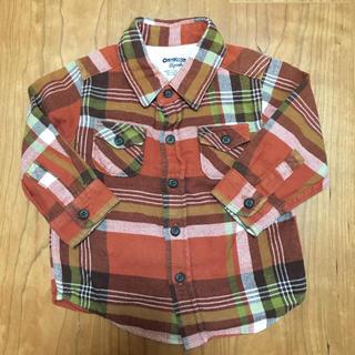 オシュコシュ(OshKosh)のオシュコシュ チェックシャツ 80(シャツ/カットソー)