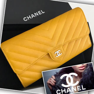 CHANEL - 【超美品☆正規品】CHANEL   財布/長財布 キャビアスキン