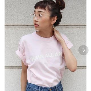 アングリッド(Ungrid)のUngrid/I HAVE ALL NEED Tee(Tシャツ(半袖/袖なし))