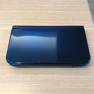 ニンテンドー3DS - ※1度のみ使用 3DS LL ネイビー ケース、付属品付き