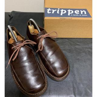 トリッペン(trippen)の3/23までの大特価 trippen トリッペン sheet 38 (ローファー/革靴)