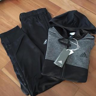 adidas - 値下げ! アディダス ジャージ セット メンズ L ブラック