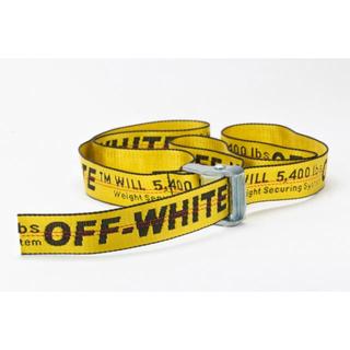 オフホワイト(OFF-WHITE)のoffwhite オフホワイト インダストリアル  ベルト(ベルト)