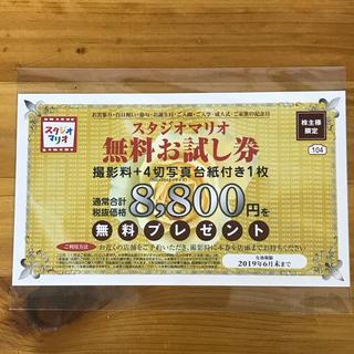 キタムラ(Kitamura)のカメラのキタムラ スタジオマリオ 無料お試し券(その他)