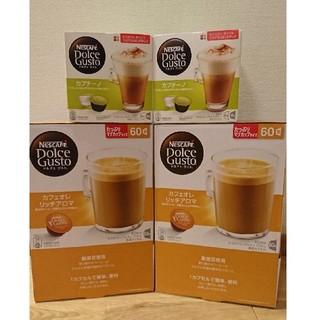 ネスレ(Nestle)の【新品】ネスレドルチェグスト136杯分(コーヒー)